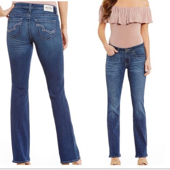 7b332f525fe Big Star Jeans | Hazel Mid Rise Bootcut Jean Sz 27l | Poshmark